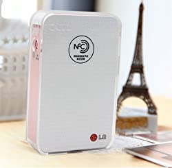 CAIUL Transparent Crystal Case for LG PD 233 Pocket Photo Printer