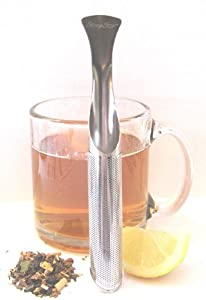The Most Amazing Tea Infuser - The Steep Stir! Premium Tea Infuser - Tea Strainer - Tea Steeper - Best Portable Loose Leaf Tea Infuser! by Eco Hip Products