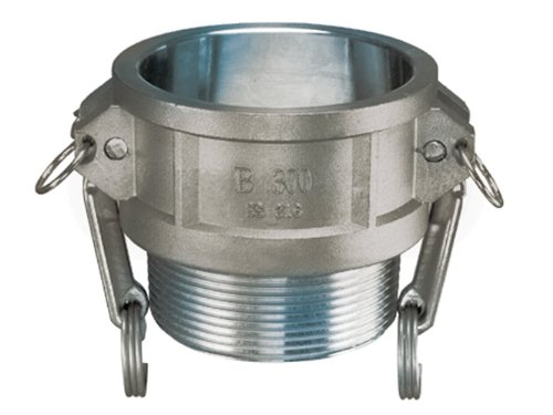 Kuriyama SS304-B125 Stainless Steel Part B Female Coupler x Male NPT, 1 1/4 1 5 sanitary stainless steel ss304 y type filter strainer f beer dairy pharmaceutical beverag chemical industry
