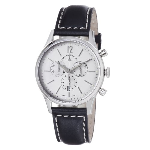 Zeno Watches free shippind deal: Zeno Men's 6564Q-I2 Event Silver Chronograph Dial Watch