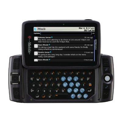 Brand New Sidekick LX 2009 SHARP PV300 GSM Unlocked - T-Mobile Retail Box (Carbon Black)