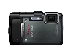 Olympus Stylus TG-830 iHS Digital Camera with 5x Optical Zoom and 3-Inch LCD (Black)