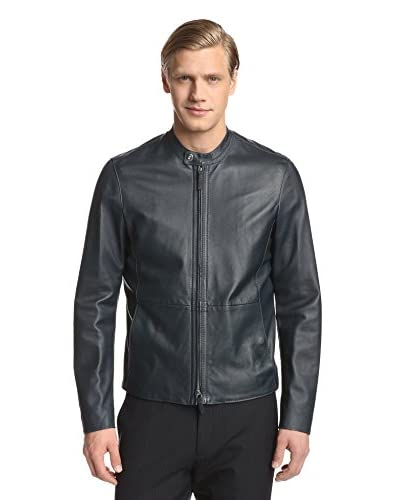 Armani Collezioni Men's Leather Jacket
