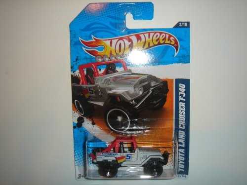 2011 Hot Wheels HW Perfomance Toyota Land Cruiser FJ40 Grey #133/244 - 1
