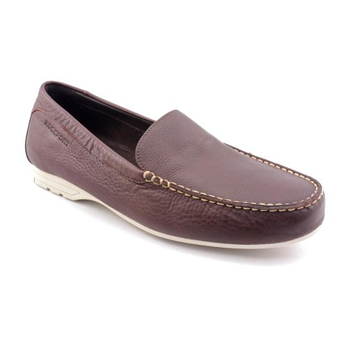 Rockport Laguna Road Venetian Moc Loafers Shoes Brown Mens