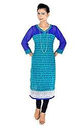 Vivaa georgette Long dress, Kurti, Top