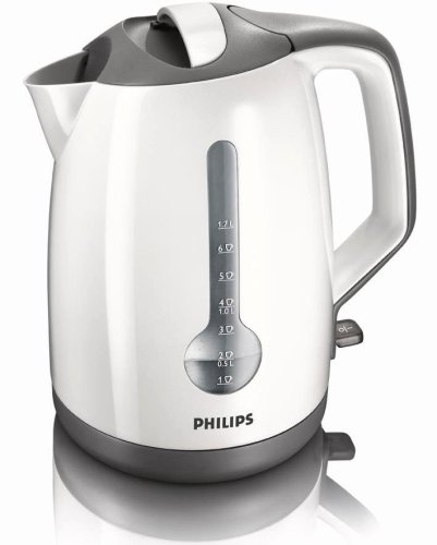 Philips HD4644/00 Energy Efficient Kettle, 3000 Watt, 1.7 Litre