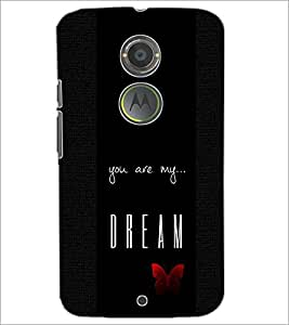 PrintDhaba Quote D-4416 Back Case Cover for MOTOROLA MOTO X2 (Multi-Coloured)