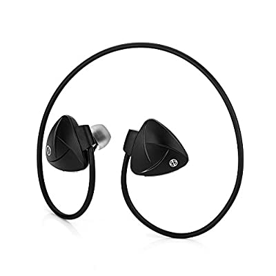 Hallomall Nfc-enabled Bluetooth 4.0 Headphones with MIC Compatible with Iphone 6, 6plus, 5s, 5c, 4s, 4, Ipad 2 3 4, Android, Samsung Galaxy, Smart Phones and Other Bluetooth Devices