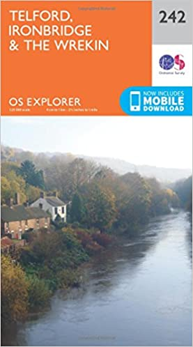 Shropshire walking map