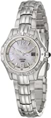 Seiko Womens SXDE19 Quartz Stainless Steel Mother-Of-Pearl