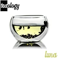 Teaology Luna Double Wall Borosilicate Tea/Espresso Cup from Teaology