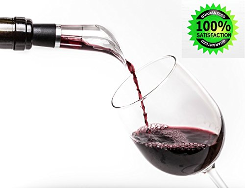 Red Wine Aerator - Drop Stop Air Pourer - Bar Wine Accessory