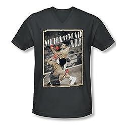 Muhammad Ali Show Slim Fit V-Neck T-Shirt