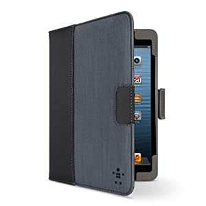 Chambray Tab Cover / Case with Stand for Apple iPad mini (Black/Grey) by Belkin Components