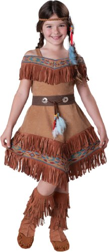 InCharacter Costumes Girl's Indian Maiden Costume