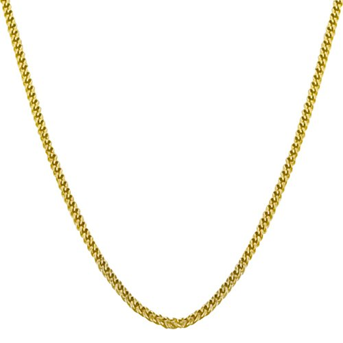 14 Karat Yellow Gold Cuban Curb Chain (18 inch)