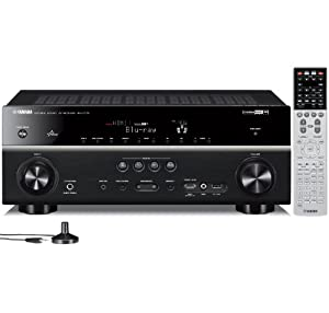 new yamaha rx v775wa 7 2 channel network av receiver with. Black Bedroom Furniture Sets. Home Design Ideas