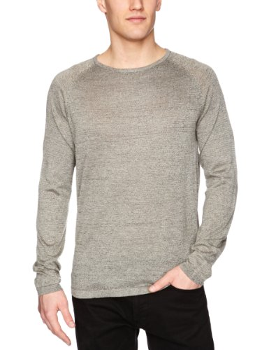 Selected Homme Lyrics Crew Neck T Men's Jumper Black Large