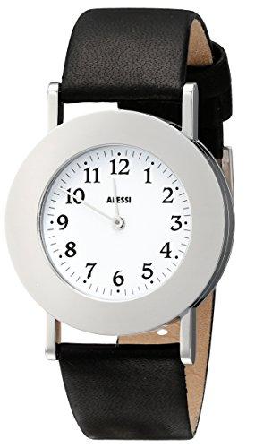 Alessi-Mens-AL4000-Momento-White-Dial-Designed-by-Aldo-Rossi-Watch