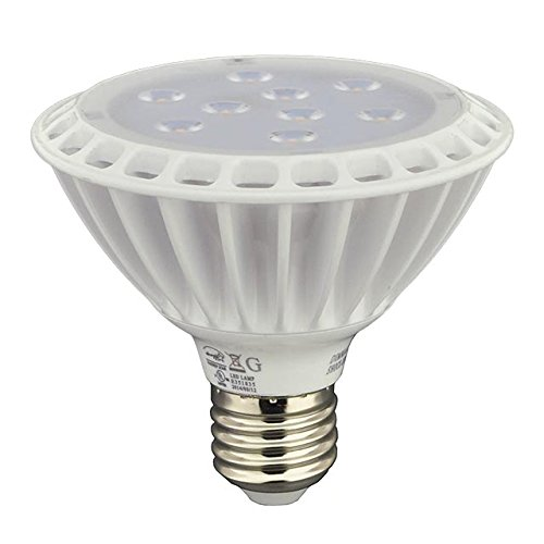 LEDwholesalers PAR30 LED Spot Light Bulb 30 Degree Beam Angle, 11 Watt, Short Neck, Cool White, 1337WH