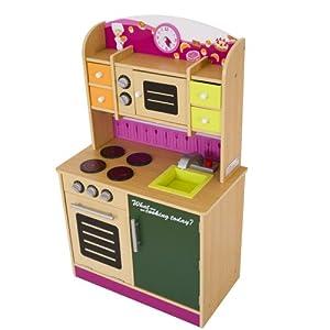 Infantastic kdk01 cucina giocattolo per bambini in legno - Cucine per bambini in legno ...