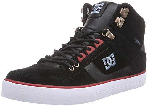dc-spartan-hi-wc-wr-black-red-mens-skate-trainers-shoes-boots-10