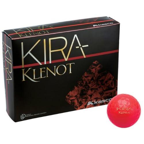 キャスコ(Kasco) キラ クレノ ゴルフボール KIRA ルビー 1ダース(12個入) 36983
