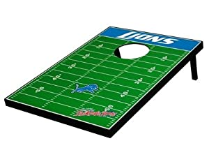 Detroit Lions Decal Football Bean Bag Toss Game by Unknown