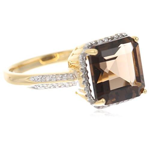 [シュエル] Chuell スターリングシルバークラシックダイヤモンドリング(1/6cttw アイJ カラー I2 I3 クラリティ) サイズ13(US 7) 【並行輸入品】