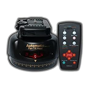 eBenk Automatic Pan / Tilt Tripod Head with Remote Control