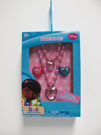Doc Mcstuffins Jewelry Box Set - 1
