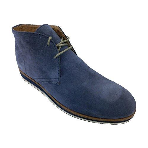 Scarpe Polacchini uomo Exton made in italy collezione primavera estate aj58 jeans (44)