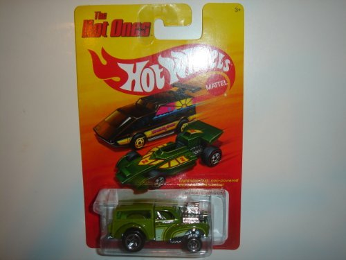 2011 Hot Wheels The Hot Ones Morris Wagon Green - 1