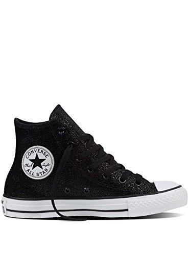 Converse All star HI 553345C Stingray metallic Black/Black white (39.5)