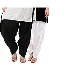 Bully Cotton patiala Salwar for Women (Combo Of 2)