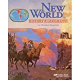 img - for New World History and Geography in Christian Perspective (A Beka Book History Series) book / textbook / text book
