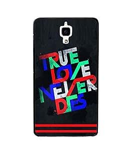 printtech True Love Back Case Cover for Xiaomi Redmi Mi4 , Xiaomi Mi 4