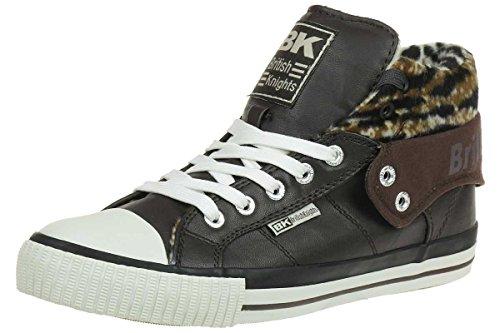 British Knights ROCO BK Damen Sneaker B32-3731-03 dunkelbraun, Schuhgröße:EUR 42