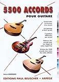 echange, troc Steve Rodgers - 5500 accords pour guitare