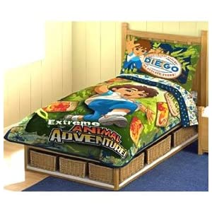 diego toddler bedding