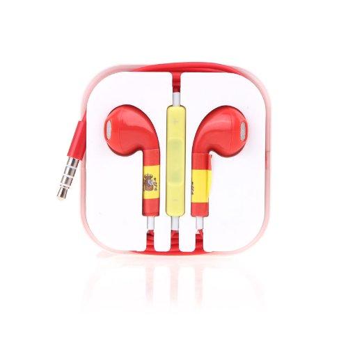 3.5Mm Sports Headphone Headset Earphone Earbuds Microphone Mic Noise Cancelling / Spain
