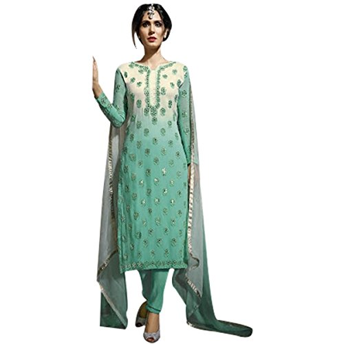 Pakistani Straight Salwar Kameez Suit Wedding Ethnic Muslim Women Dress Sexy