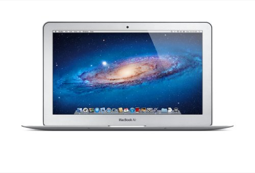 Apple MacBook Air 11-inch Laptop (Intel Dual Core i5 1.7 GHz, 4 GB RAM, 64 GB SSD, HD Graphics 4000, OS X) - Silver - 2012 - MD223B/A - UK Keyboard