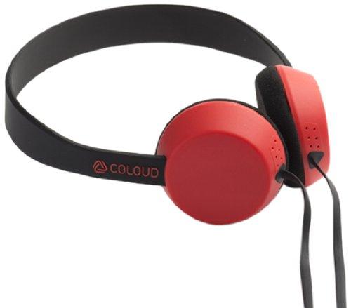 【国内正規品】 COLOUD KNOCK Blocks ヘッドフォン ブラック / レッド 4090646