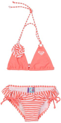 Roxy Girls 2-6x Teenie Wahine - Rose Sea Salt Set