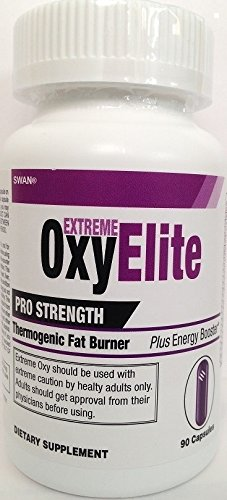 Extreme OxyElite Pro Strength Thermogenic Fat Burner plus Energy Booster by Swan® (Pro Energy compare prices)