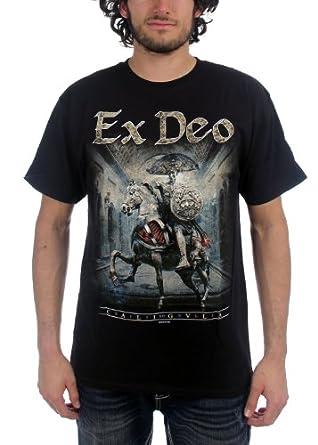 Ex Deo - Mens Caligvla T-Shirt In Black, Size: XX-Large, Color: Black