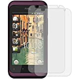 MYBAT HTCADR6330LCDSCPRTW LCD Screen Protector for HTC Rhyme ADR6330 - Retail Packaging - Twin Pack