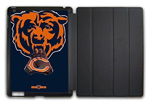 NFL Chicago Bears APPLE IPAD 2/3/4 Case(fit for:A1395/A1396/A1397/A1416/A1430/A1403/A1458/A1459/A1460) V152105 (Chicago Bears Tablet Case compare prices)